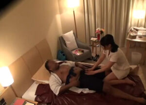 Hidden japanese massage