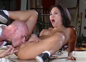 Asa akira and johnny sins